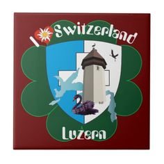Luzern Schweiz Fliese