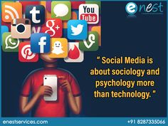 know your audience's behavior can save your time for branding because social media is about sociology and psychology & more than Technology.  #socialmedia #psychology #sociology #enest #enestservices #SMO #socialmediamarketing #Technology