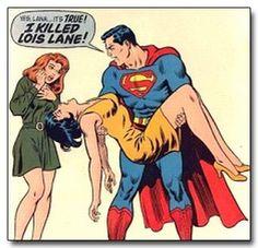 Lana Lang, Superman and Lois Lane by Curt Swan