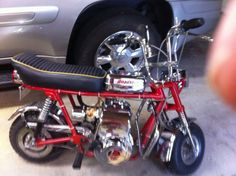 1969 Rupp Roadster Mini Bike Red In Color In Great Condition For
