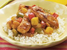 Sweet-and-Sour Chicken | From snacks to entrées, find recipes and tips on how to get your growing (and opinionated) little one to try new and nutritious foods.