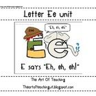 This unit includes my new Letter Ee unit and the Magic E unit combined! It includes a letter E character, a chant, assessments, activities, alphabe...