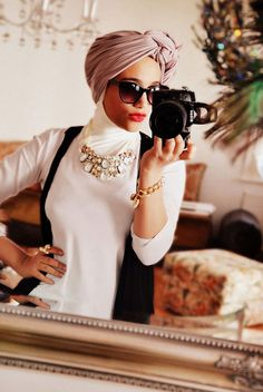 Since hijab is now such a large part of style, we obviously had to offer you our rundown of the greatest strategies to wear hijab. The first thing which springs to mind when selecting hijab is to learn the style… Continue Reading → Muslim Women Fashion, Islamic Fashion, Modest Fashion, Hijab Fashion, Turban Fashion, Work Fashion, Fashion Ideas, Fashion Outfits, Hijab Abaya