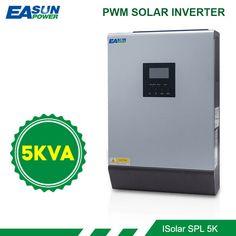 5K 4000W Solar Inverter Off-grid Pure Sine Wave 220VAC 48V Built-in PWM Charger · $345.83 Off Grid Inverter, Solar Inverter, Town Names, Sine Wave, Pcb Board, Solar Charger, Off The Grid, Renewable Energy, Waves