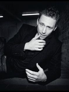 Tom Hiddleston Photoshoot for Elle