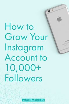 Learn the Instagram strategies that will enable you to grow your account beyond 1000 followers and into the tens of thousands. via @allyssabarnes