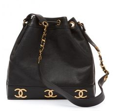 Chanel Vintage Navy Shoulder Bag