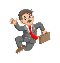 Business man is jumping with good suit vector Free Vector Images, Vector Free, Border Design, Cool Suits, Crafts For Kids, Royalty, Artist, Colorful, Fictional Characters