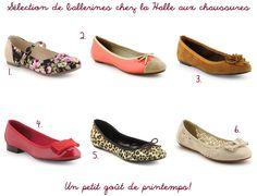b432622c229be confessions-de-melle-heloise  Ballerines coups de coeur chez La Halle aux  chaussures