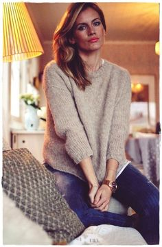 Me Naiset – Blogit | Kalastajan vaimo – Simppeli Suri Drops Design, Knit Jacket, Hobbies And Crafts, Passion For Fashion, Knitwear, Knit Crochet, Cool Outfits, Turtle Neck, Pullover