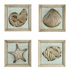 Avanity 202103 Wall art 14 in. Wood Plaque of Sea Shells - Set of 4 by Avanity. $93.75. Design is stylish and innovative. Satisfaction Ensured.. Size: 14quot; x 14quot; .. Great Gift Idea.. Set of 4.. Manufactured to the Highest Quality Available.. AVANITY is an amazing resource for your bathroom project solutions. We have a large assortment of designs featuring Contemporary Transitional Americana and Traditional details. Whether you are designing for a custom h...