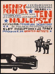 The Best Man (Franklin J. Schaffner, 1964) Polish design by Andrzej Krajewski