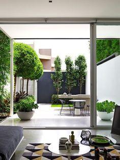 Son 5 puntos importantes para que un jardín pequeño no parezca un batiburrillo de cosas acumuladas sin sentido. ¿Cuál de estos trucos vas a probar?