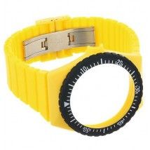 Fortis Colors C 04 24 -mm Yellow Silicone Watch Strap Disney Tees, Sweaters And Leggings, Band Shirts, Gift Store, Watch Bands, Discount Uggs, Coupon Binder, Watches, Leather