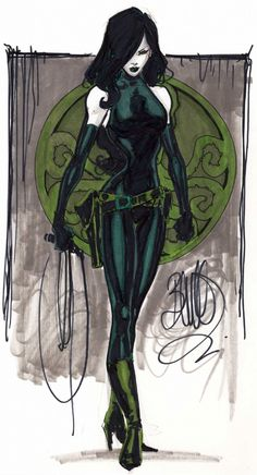 Viper is the former terrorist leader of HYDRA and an enemy of Captain America, Nick Fury and Wolverine among many others. While she is not the ruler of Madripoor, she did - or does - own it. Captain America Villains, Marvel Villains, Marvel Comics Art, Marvel Comic Universe, Comics Universe, Marvel Vs, Marvel Heroes, Female Villains, Female Characters