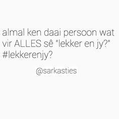 #sarkasties #skertips #afrikaans #afrikaansequotes #snaaks #tiener #jonk #lag #humor #skêrtips #skêrtips/sarkasties #skertips/sarkasties #skertipssarkasties #jaco #snyman #jacosnyman #grap #grappe #afrikaansegrappe #grappeafrikaans #grapafrikaans #trotsafrikaans #bliksem #afrikaansmemes #memes #afrikaansememes #afrikaansisgroot Quotes And Notes, Me Quotes, Funny Quotes, Love You So Much, My Love, Afrikaanse Quotes, Jaco, Life Advice, Sarcasm