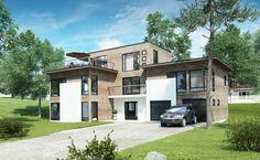Kataloghus U- 7170 - moderne bolig over tre plan med leilighet!