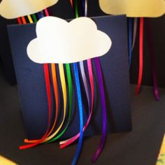Rainbow Party Invitation
