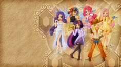 my little pony humans | humanized my little pony Human MLP