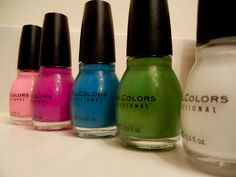 Sinful Colors is a very amazing nail polish for the least amount of money.