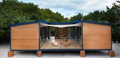 Louis Vuitton realises unbuilt Charlotte Perriand beach house in Miami