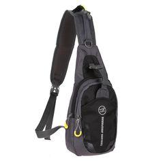 Backpack- Nylon Waterproof Chest Bag- Functional Waist Bag for Outdoors