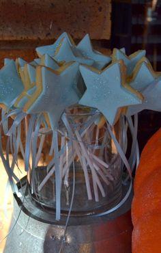 Cinderella Fairy Godmother Magic Wand Cookies