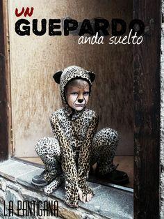 La Pantigana: UN GUEPARDO ANDA SUELTO... disfraz