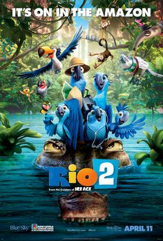 Watch Rio 2 online for free at HD quality, full-length movie. Watch Rio 2 movie online from The movie Rio 2 has got a rating, of total votes for watching this movie online. Watch this on LetMeWatchThis. Film Rio, Rio 2 Movie, Film D'animation, Movie Film, Comedy Film, Drama Film, Movies 2014, Kid Movies, Family Movies