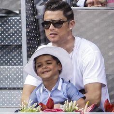 Cristiano and his son