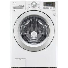 LG Electronics 4.3 cu. ft. High-Efficiency Front Load Washer in White, ENERGY STAR WM3170CW at The Home Depot - Mobile