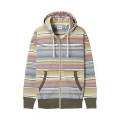 Striped hoodie!