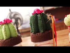 alfiletero-costurero cactus*DIY pincushions *sewing box//Hand made History Of Cosmetics, Cactus, Diy Pins, Sewing Box, Pincushions, Fruit, Handmade, Youtube, Things To Sell