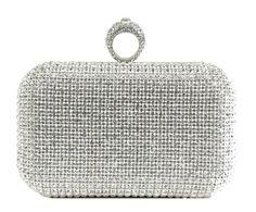 Scarleton Crystal Clutch Bag H3223 $28.99 (78% OFF) + Free Shipping
