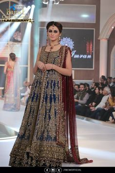 Ayesha Imran Winter Collection 2016-2017 Telenor Bridal Couture Week (7)
