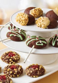 """Chewy Chocolate Cookies Three Ways — This is the """"little black dress"""" of cookie recipes: a go-to chocolatey dough that's easy to dress up or down for totally different looks and tastes."""