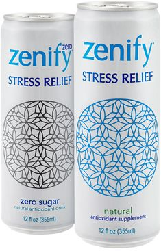 Zenify Drinks - Natural Stress Relief - L-Theanine and Gaba