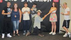 One direction m Girl got proposed by harry. And Zayn's face expression lol :))