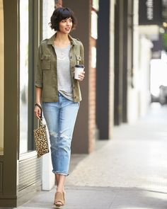 It's true love. See 3 ways to get serious with your boyfriend jeans.