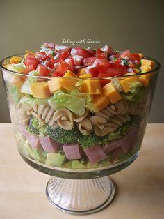 7-Layer Pasta Salad