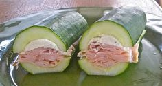 sandwich de pepino sin pan