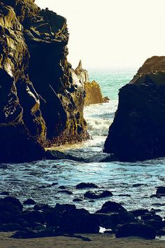 Pfeiffer Beach, Big Sur, CA...I want to go to there