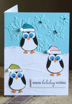Christmas Cards 2017, Christmas Greeting Cards, Holiday Cards, Handmade Birthday Cards, Greeting Cards Handmade, Owl Punch Cards, Owl Card, Winter Cards, Patch