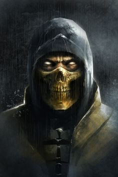 There will be a ton of customization features in You can modify the masks, weapons, clothes etc. I'd love to give scorpion a skull… Mortal Kombat X Scorpion, Mortal Kombat Art, Thor Marvel Movie, Skorpion Mortal Kombat, Ghost Raider, Mortal Kombat X Wallpapers, Dark Red Wallpaper, Marshmello Wallpapers, Wolf Spirit Animal