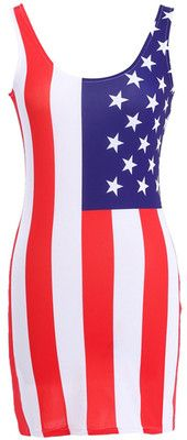 american flag vertical stripes
