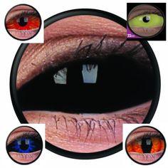 contact lenses-black-sklera-year-lens sclera-halloween-party-fun-NEW