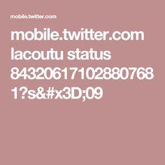 mobile.twitter.com lacoutu status 843206171028807681?s=09