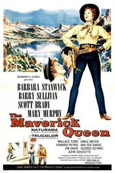 barbara stanwyck THE MAVERICK QUEEN movie poster CLASSIC WESTERN 24X36 gem Brand New. 24x36 inches. Will ship in a tube. - Multiple item purchases are combined the next day and get a discount for dome