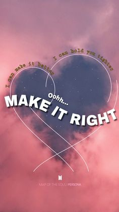 Make it right by BTS Lyrics Lockscreen - Wallpaper Bts Song Lyrics, Bts Lyrics Quotes, Bts Qoutes, Pop Lyrics, Song Lyrics Wallpaper, Wallpaper Quotes, Wallpaper Wallpapers, Bts Jungkook, Taehyung
