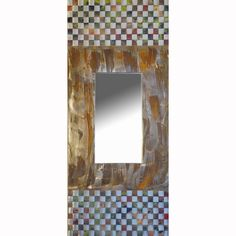 View all Jean and Tom Heffernan mirrors at http://www.sweetheartgallery.com/collections/art-mirrors-jean-and-tom-heffernan-artistic-handwoven-copper-mirrors